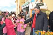 FAST FOOD - Ereğli Belediyesi'nin Öğrencilere Çorba İkramı Sürüyor