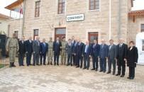 GAZIANTEP TICARET ODASı - GTO Yönetimi, Sınırdaki Askeri Birliği Ziyaret Etti