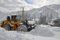 Hakkari'de Kar Alarmı Verildi