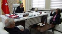 GÖKHAN KARAÇOBAN - Hayvanseverlerden Başkan Karaçoban'a Teşekkür Ziyareti