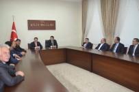MEHMET METIN - İl Genel Meclisi Kaymakamları Ziyaret Etti