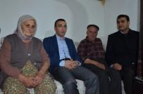 Kaymakam Arslan Evi Yanan Şehit Ailesini Ziyaret Etti