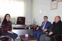 MEHMET NURİ ÇETİN - Kaymakam Çetin, Sağlık Gurup Başkanlığını Ziyaret Etti