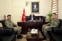 Kışla Komutanı Albay Balibaşa, Vali İsmail Ustaoğlu'nu Ziyaret Etti