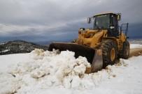 BURSA VALİLİĞİ - Nilüfer'de Karla Mücadele Ekipleri Teyakkuzda
