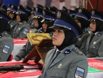 Sivas'ta 250 Afgan Kadın Polis Mezun Oldu