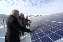 Tamamlanan Güneş Enerjisi Santralinde İnceleme