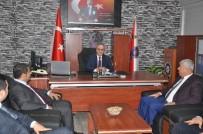 METIN ŞENTÜRK - Taşdoğan'dan İslahiye Protokolüne Ziyaret