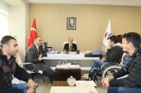 BEDENSEL ENGELLİ - Van Büyükşehir Belediyesi Genel Sekreterine Ziyaretler Sürüyor