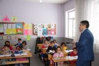 Varto Kaymakamı Çetin, Okulları Ziyaret Etti