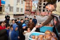 Aksaray Belediyesi'nden Öğrencilere Sıcak Çorba