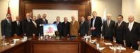 HÜSEYIN ÖZER - ATO Yönetimi Maliye Bakanı Ağbal'ı Ziyaret Etti
