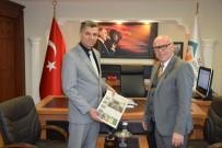 ARSLAN YURT - Başkan Eşkinat'tan Süleymanpaşa Yeni Kaymakamı Arslan Yurt'a Hayırlı Olsun Ziyareti