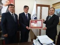 Bilecik PTT Başmüdürü Bozkurt'tan Başkan Yalçın'a Ziyaret