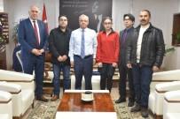 AYDOĞAN - BİLSEM'den Başkan Kayda'ya Ziyaret