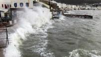 BITEZ - Bodrum'u Fırtına Vurdu
