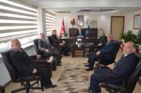 KASıRGA - CHP Kula'dan Kaymakam Güven'e Ziyaret