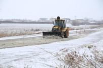 Edirne'de Kar Nedeniyle 63 Köy Yolu Ulaşıma Kapandı