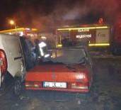 Elazığ'da 4 Aracı Kundaklayan Şahıs Yakalandı
