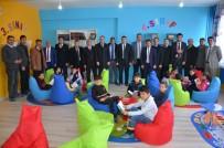 HAYIRSEVER İŞ ADAMI - Hasköy'de Kütüphane Açılışı