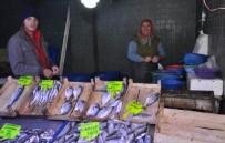 BALIK PAZARI - Hava Muhalefeti Balık Fiyatlarını Yükseltti