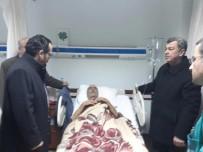Şehit Polisin babası acı aaberi hasta yatağı'nda aldı
