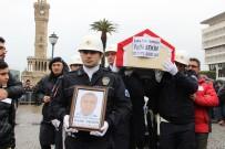 EROL AYYıLDıZ - Kahraman Trafik Polisine Hüzünlü Veda