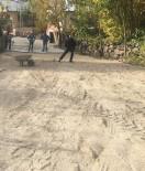 Koyulhisar'da Parke Taşı Döşeme Çalışmaları Sürüyor