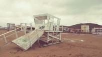 Lodos Fırtınası Ve Sağanak Yağış Kuzey Ege'de Hayatı Olumsuz Etkiliyor