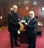 MOLDOVA - Moldova Amerikan Üniversitesi'nden, Comrat Devlet Üniversitesi'ne Ziyaret
