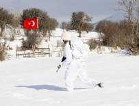PKK'nın sığınakları imha edildi