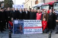 DAVUT GÜL - Sivas'tan Halepliler'e 6 TIR Yardım Gönderildi