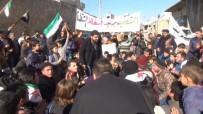 SURIYE DEVLET BAŞKANı - Suriyelilerden Esad Protestosu