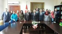 MURAT DURU - TEOG Sınavında Dereceye Giren Öğrenciler Kaymakam Duru'yu Ziyaret Etti