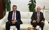 TÜRK TARIH KURUMU - TTK Başkanı Turan Başkan Gürkan'ı Ziyaret Etti