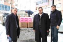 CEMEVI - Varto Belediyesi'nden Cami Ve Cemevine Temizlik Malzemesi Yardımı