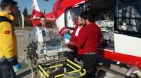AMBULANS HELİKOPTER - Ambulans Helikopter 3 Aylık Sinem İçin Havalandı