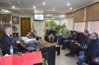 ASELSAN Yetkililerinden Başkan Yaman'a Ziyaret