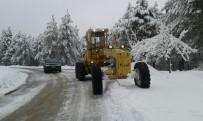 KARAKÖY - Aydın Büyükşehir Karla Mücadeleye Devam Ediyor