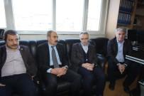 Bakan Ağbal'dan, MHP İl Başkanlığı'na Ziyaret