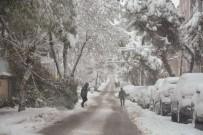 ERSIN YAZıCı - Balıkesir Karla Kaplandı