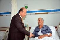 MESUT ÖZAKCAN - Başkan Özakcan'dan İzmir'in Kahramanı Şehit Polisin Babasına Ziyaret