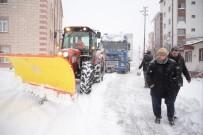 KAR KÜREME ARACI - Bilecik Belediyesinin Karla Mücadele Çalışmaları