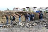 Bodrum'da İnşaat Alanında Göçük Meydana Geldi