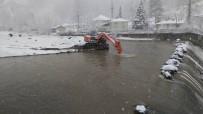 Düzce İçme Suyunda Kar Yağışı Altında Çalışma