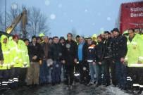 İLETİŞİM MERKEZİ - Fatih Belediyesi Karla Mücadele Çalışmalarını Sürdürüyor