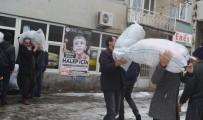 KATLIAM - Genç'ten Halep'e İlk Yardım Konvoyu Yola Çıktı