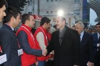 FEVZI ŞANVERDI - İçişleri Bakanı Süleyman Soylu, Hatay'da İncelemelerde Bulundu.