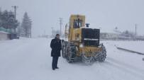 Pazaryeri Beyaza Büründü, Karla Mücadele Devam Ediyor