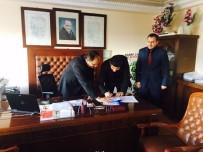HAKAN YILDIZ - Şarkikaraağaç'ta 'Mesleki Ve Teknik Eğitim Okul Yönetim Kurulu'  Protokolü İmzalandı